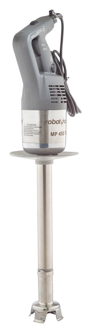 Robot Coupe MP 450 Turbo 18-Inch Heavy-Duty Commercial Immersion Blender Power Mixer, 120-Volts