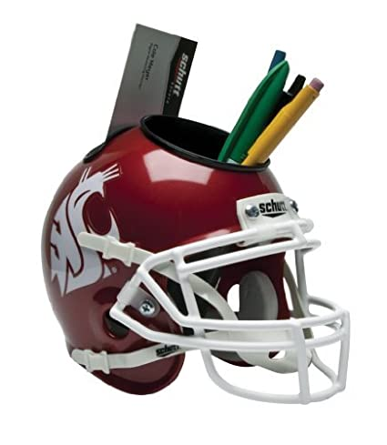 NCAA Washington State Cougars Mini Helmet Desk Caddy by Schutt