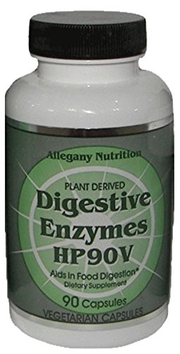 Allegany Nutrition Digestive Enzymes - 90 Count