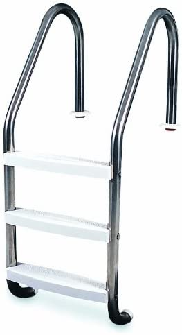HydroTools by Swimline 3-Step In-Ground Stainless Steel Ladder