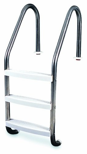 HydroTools by Swimline 3-Step In-Ground Stainless Steel Ladder by Hydrotools