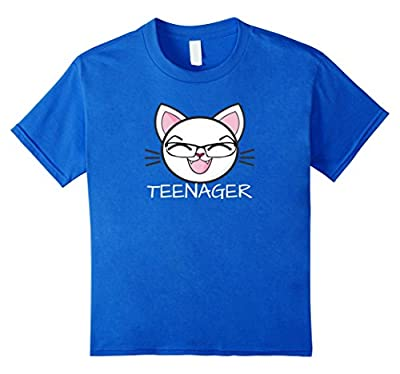 Official Teenager Tshirt Funny 13th Birthday Girls Apparel