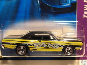 """Amazon.com: Hot Wheels '70 Plymouth Road Runner """"Taxi Rods"""