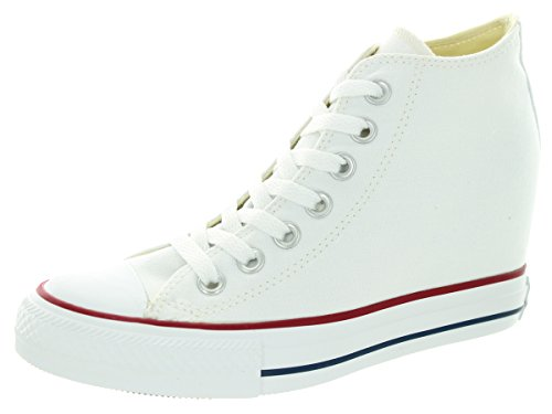 125361d1703a Converse Chuck Taylor All Star Lux Mid Fashion Sneaker Wedge ...