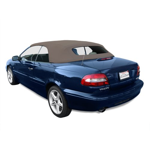 Volvo C70 Convertible Top (1999-2006) Haartz Twillfast II Cloth Material with Heated Glass Window, - C70 2004 Convertible Volvo