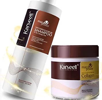 Amazon com: Keratin Shampoo & Hair Mask Keratin