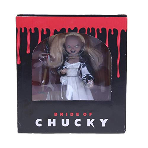PLAYER-C Bride of Chucky Figure Childs Play Good Guys Chucky Horror Bishoujo Statue PVC Action Figure Collectible Model -