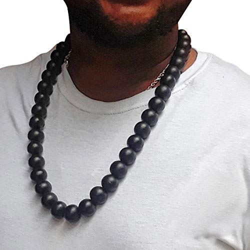 klace for Men by Brownskinthings Inc. - Ankh (Optional) - Handmade - Hip Hop Accessories - African American ()