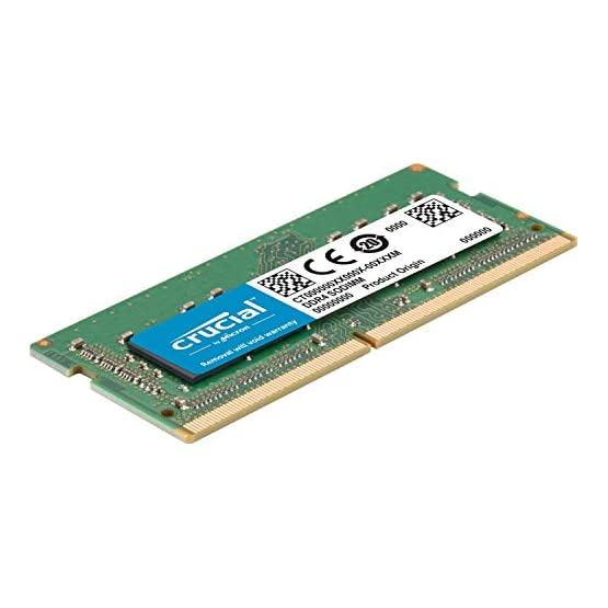 Crucial 16GB Kit (8GBx2) DDR4 2400 MT/s (PC4-19200) SR x8 SODIMM 260-Pin for Mac - CT2K8G4S24AM 41ZH2MlHSEL. SS555