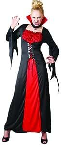 Disfraz de vampiresa para mujer| ideal para Halloween