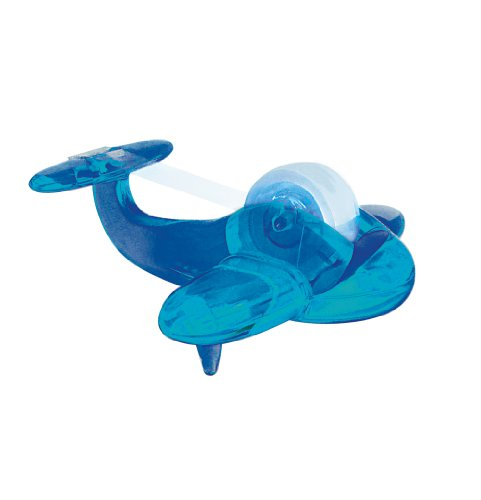 Airplane Tape Dispenser - Blue