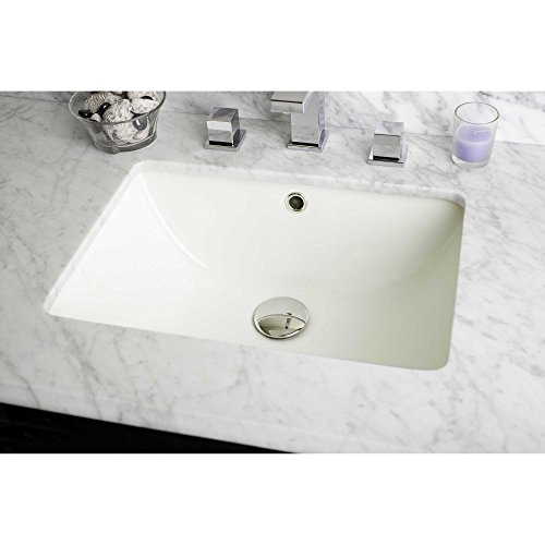 outlet American Imaginations 18.25-in. W x 13.5-in. D CUPC Certified Rectangle Undermount Sink In Biscuit Color
