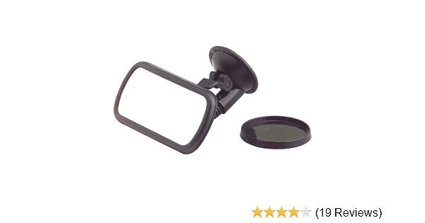 "HR10410601 interior Blind Spot Mirror 2.1 x 4.5/"" SHORT Goosneck  Made in Germany"