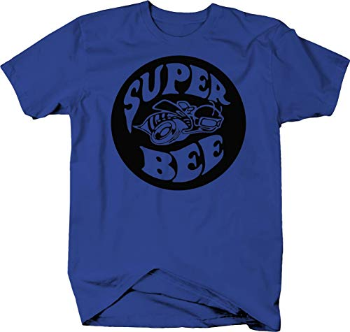 Super Bee Racing Charger Challenger Ram Racing Mopar Dodge Color Tshirt - Large
