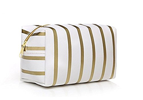 WIN Make up Bag, Waterproof Striped Cosmetics bags Travel Wa