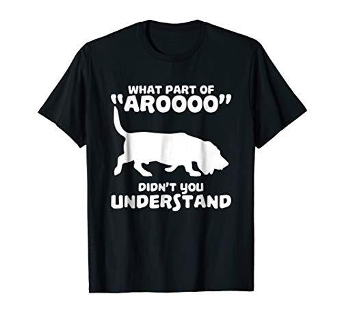 Funny Bassett Hound Howl Tshirt Design ()
