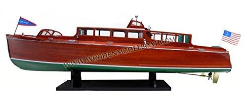 1929 Chris Craft Commuter Cruiser Wooden Model Speed Boat - Gia Nhien SB0103P