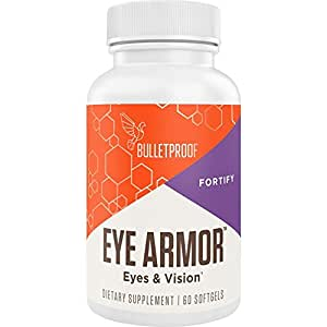 Bulletproof Eye Armor, Block Blue Light Burnout (60 Capsules)