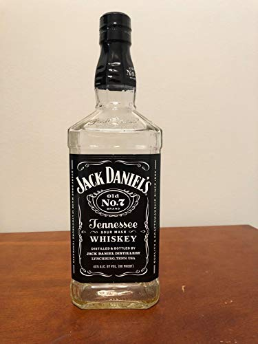 """Jack Daniel's Ole Tennesse Whiskey""""Sour Mash"""" Empty, used for sale  Delivered anywhere in USA"""