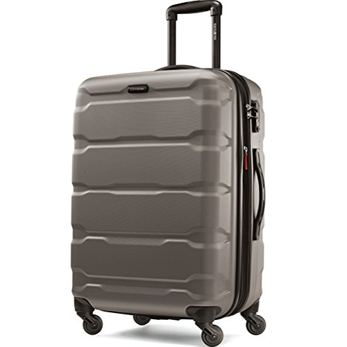 Samsonite Omni Pc Hardside Spinner 24, Silver by Samsonite