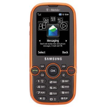 amazon com samsung sgh t469 gravity 2 phone t mobile sim orange rh amazon com