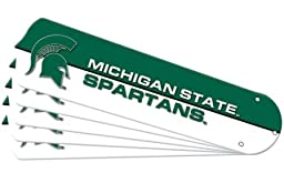 Ceiling Fan Designers 7990-MST New NCAA MICHIGAN STATE SPARTANS 52 in. Ceiling Fan Blade Set