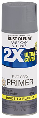 Rust-Oleum 327912 Spray Paint, 12 oz, Gray Primer