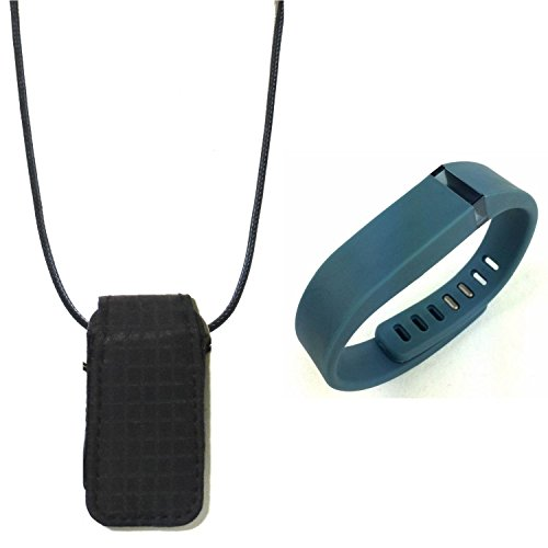 replacement band wristband for fitbit flex and Fashion fabric loop bra Pendant Necklace Holder pouch case (Fitbit Flex Vs Charger)