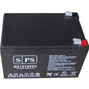 Replacement Battery Schumacher Electric IP-125 Instant Power Jump Starter 12V 12Ah Battery (SPS Brand )
