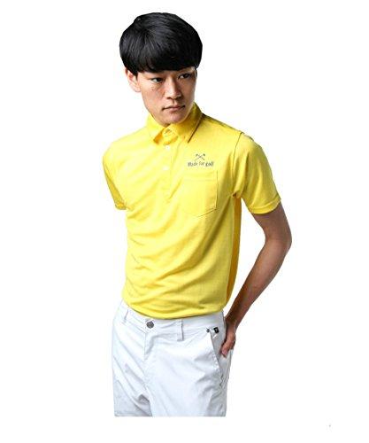 ツアーディビジョン ゴルフウェア ポロシャツ 半袖 チェックダルブラJQ TD220101H09 YE L