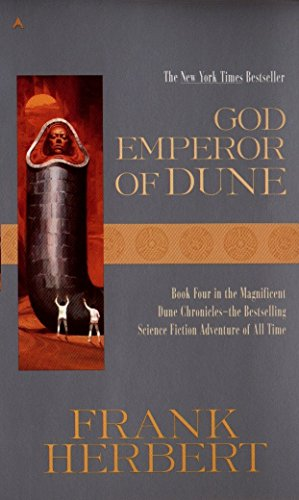 Book cover from God Emperor of Dune (Dune Chronicles, Book 4) by Frank Herbert