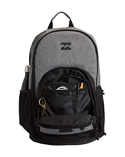 41ZH84RuKZL - Billabong Men's Classic School Command Backpack, Stealth Black, One Size