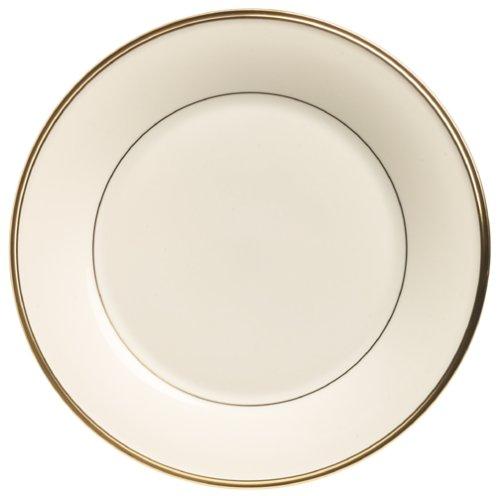 Lenox Eternal Gold Banded Ivory China Dinner - Dinner Plate Fine China