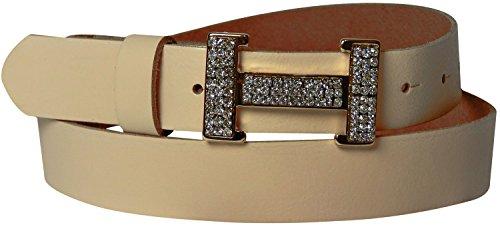 3 Cintura Altezza Pelle Donna E 5 Da Art Con In Di Strass Fibbia A Dorata H Cm Pesca Fronhofer Forma 18005 ISXxYwqdS
