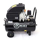 Air Compressor 50 Litre 9.6CFM 2.5HP, Black