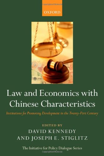 Law and Economics with Chinese Characteristics: Institutions for Promoting Development in the Twenty-First Century (Init