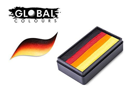 Global Body Art Face Paint Funstroke Mexico 30gr Buy Online In Israel Global Colours Bodyart Products In Israel See Prices Reviews And Free Delivery Over 250 Desertcart