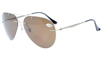 Eyekepper Titanio estilo montura gafas de sol polarizadas +2.5
