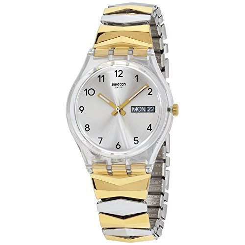 Swatch Originals Tresorama Silver Dial Stainless Steel Ladies Watch GE707A
