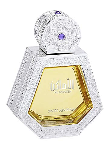 Best Arabian Perfume Brands - Al Amaken, Eau De Parfum for Women (50mL) | Intense, Energetic and Enticing Fragrance with Sultry Wood and Musk