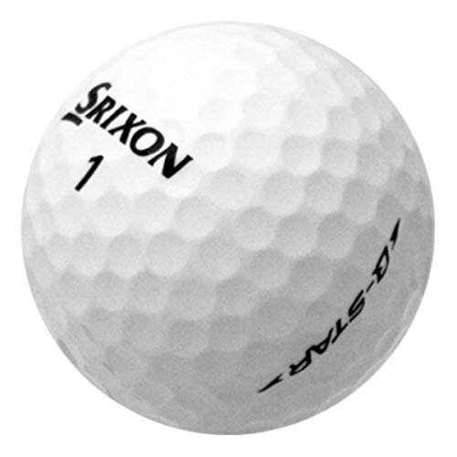 Srixon Q Star AAAA Pre-Owned Golf Balls, Pack of 12 (Srixon Z Star Golf Balls Best Price)