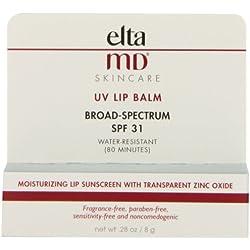 EltaMD SPF 31 UV Broad Spectrum Lip Balm, 0.28 Fluid Ounce