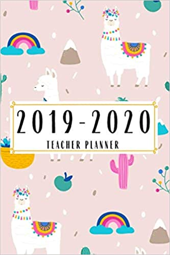 2019-2020 Teacher Planner: Academic Planner Lesson Student ...