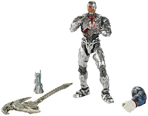 Mattel Multiverse Justice League Cyborg Figure, 6