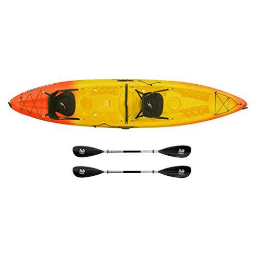Ocean Kayak Malibu 2XL Tandem Kayak - Sport Package - Sunrise/220cm-220cm - Ocean Kayak Tandem Kayak