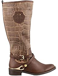 Azura Womens Azaria Durable Mid Calf Fashion Boots