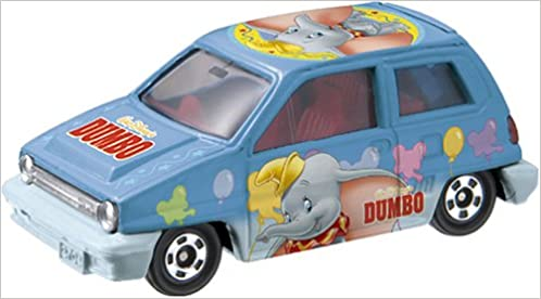 Disney Tomica Collection D-20 Honda City Turbo II Dumbo Toy