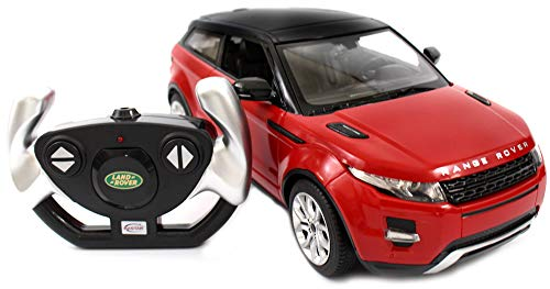 PowerTRC Licensed Range Rover Evoque Electric RC Car 1:14 Authentic Full Functional Body Styling (Colors May Vary) Red