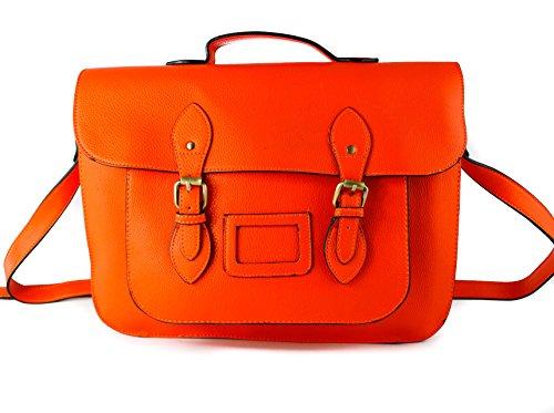 Redfox - Bolso estilo cartera para mujer naranja