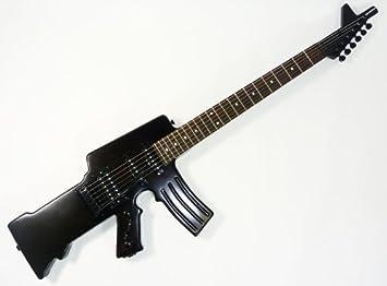ENFORCER 8505 - Guitarra eléctrica, diseño de metralleta: Amazon.es: Instrumentos musicales
